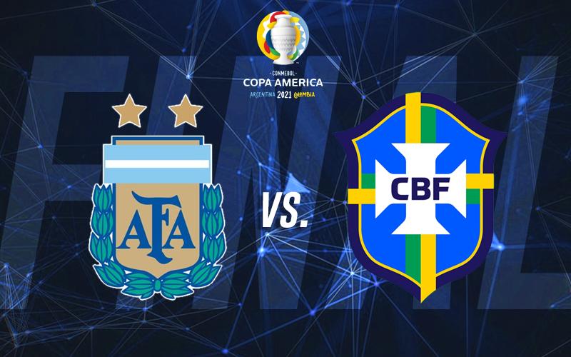 Final Copa AméricaARGENTINA vs BRASIL Profebet Análisis y pronóstico deportivo