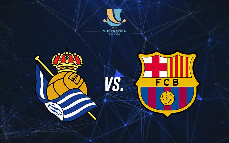 Apuestas Real Sociedad vs. FC Barcelona: semifinal Supercopa de España 2021