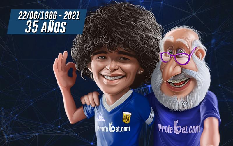 El Gol del Siglo: Maradona contra los ingleses
