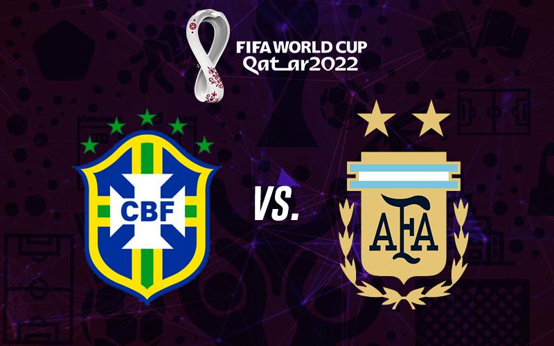 Eliminatorias Qatar Brasil vs Argentina